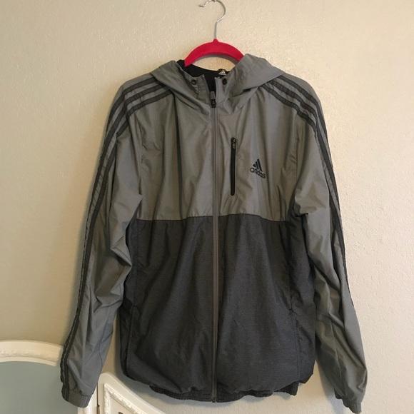 c3b2b52a5f34 adidas Other - Adidas Grey windbreaker